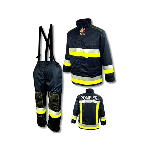 Costum pompieri ergonomizat